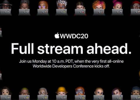 库克公布WWDC20大会线上数据:2200万观看量 4500人在线交流