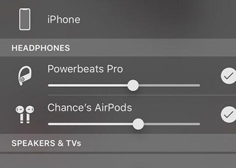 iOS13双蓝牙音频共享功能如何使用?