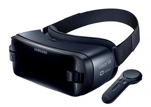 三星推出新款Gear VR,还带手持无线遥控器