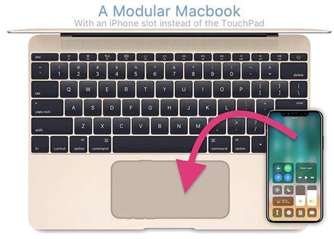 未来MacBook可能会使用iPhone作为触摸屏