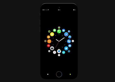 iOS11概念设计:在iPhone上体验watchOS