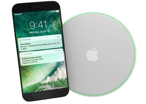 iPhone8重磅功能曝光:或将支持无线充电