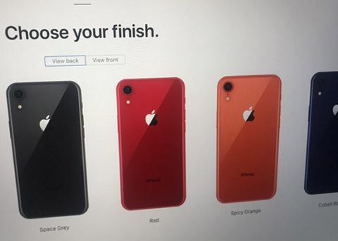 疑似iPhone9预定页面泄露 更多配色出现