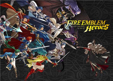 游戏免费卡牌氪金,《火焰之纹章》改编手游正式上架!