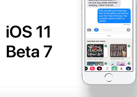 iOS11又更新了:iOS11 Beta7和公测版Beta6已发布