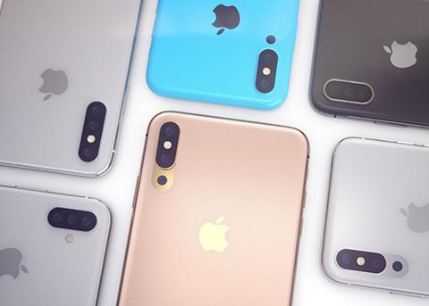 iPhone搭配三颗后置摄像头概念渲染图欣赏