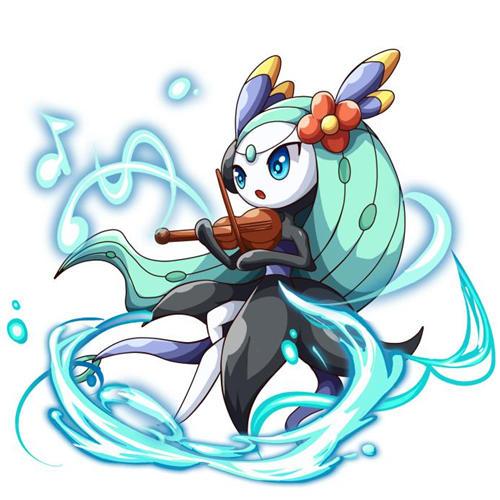 而在处于舞步型态时,美洛耶塔是一般/格斗系的口袋妖