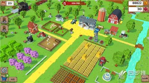 体验不一样的农场生活《方块农场》即将上架!