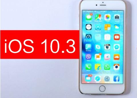 iOS10.3又双叒叕更新了 这次是iOS10.3 beta6