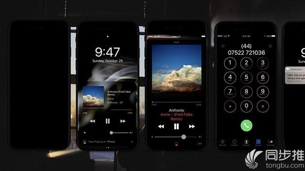 iPhone8概念设计:OLED+暗黑模式+黑色机身