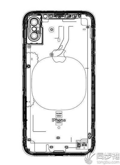 疑似iPhone8最新设计图曝光 双摄像头将垂直排列?