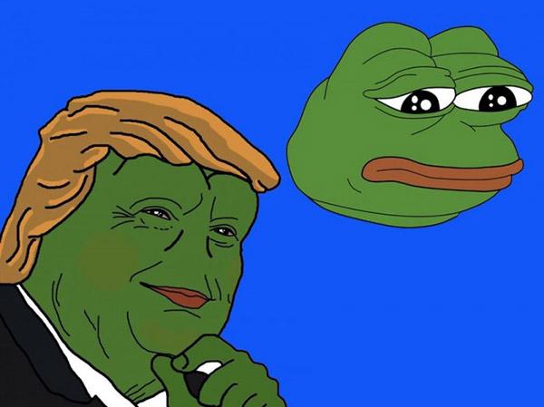 历史上第一位被公开宣告死亡的表情包:青蛙pepe图片