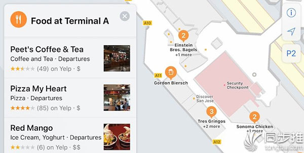 iOS11地图中的这个新功能逐渐开启支持了