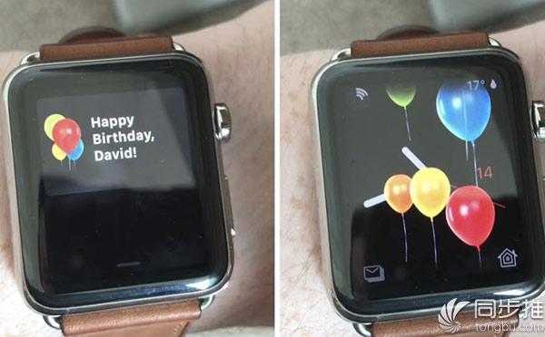 watchOS 4新特性:发信息祝你生日快乐