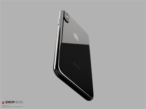 iOS11加持iPhone8最新渲染图:摄像头吓人!