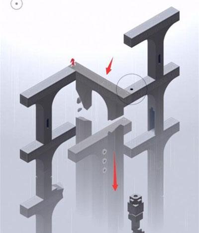 纪念碑谷2全关卡图文攻略,第十一章图文攻略