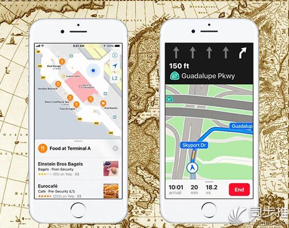 iOS11到底为苹果地图带来哪些不错的改进?