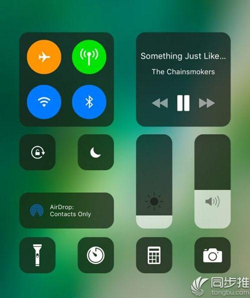 iOS10越狱插件推荐:将iOS11控制中心引入iOS10