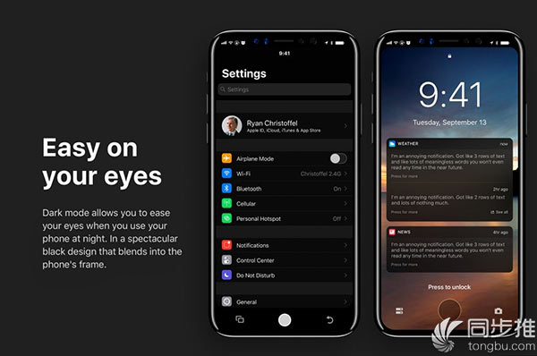 iPhone8搭载iOS12概念设计来了 你喜欢吗?