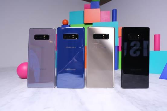 三星Galaxy Note 8发布:后置双摄像头 S Pen功能更丰富