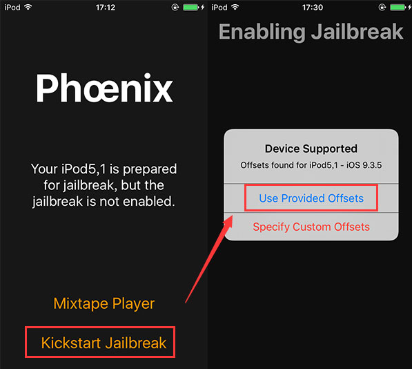iOS9.3.5越狱工具Phœnix发布!iOS9.3.5越狱图文教程