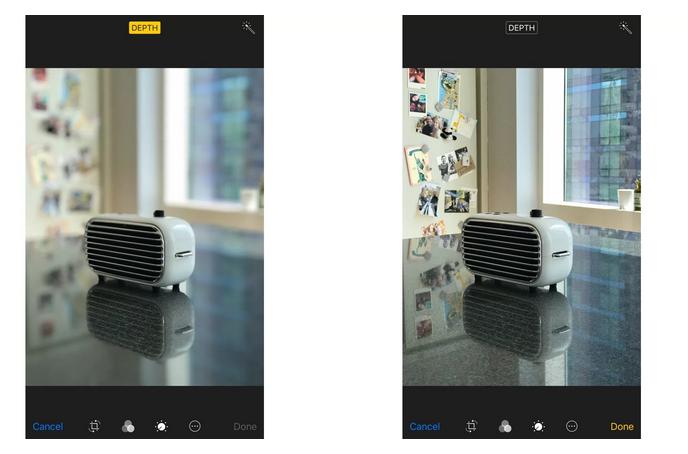 iOS11如何取消人像模式的景深效果?