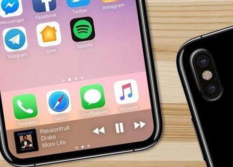 iPhoneX全面屏尺寸有多大?iPhoneX屏幕将成为最大的智能手机显示屏