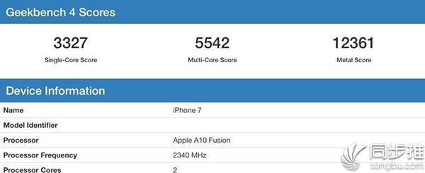 iPhone X跑分曝光:A11性能媲美13英寸MBP