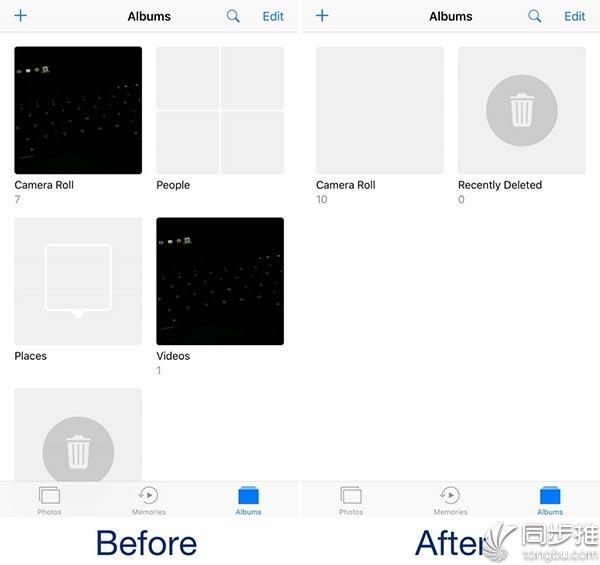 iOS10越狱插件:可以将iOS自动创建的相册隐藏