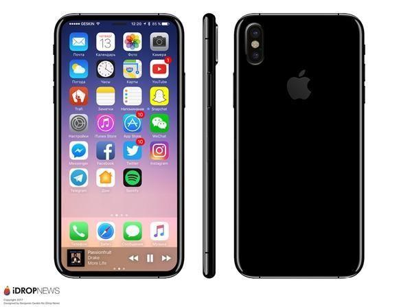 iPhone8指纹识别会取消吗?iPhone8屏幕下指纹能实现吗?