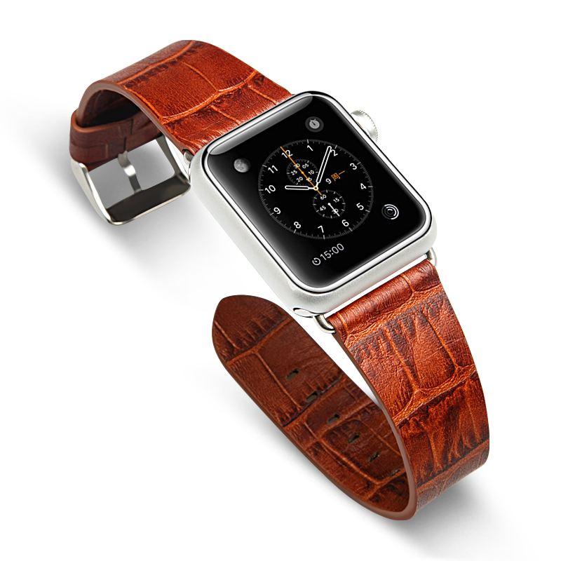 这个很不错 苹果在研究可自动调整AW表带