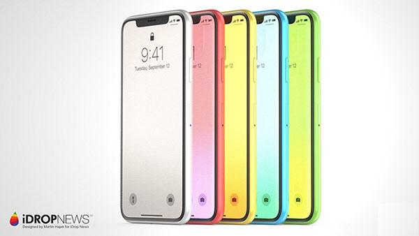脑洞大开!将iPhone X和iPhone 5c 相结合的概念机