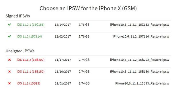 苹果关闭iOS 11.1.2验证通道 现已无法降级iOS11.1.2