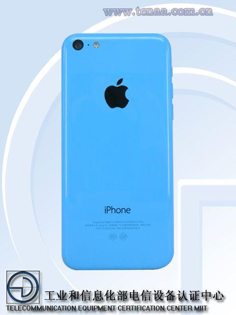 iPhone5c要重生了?已重新获得入网许可