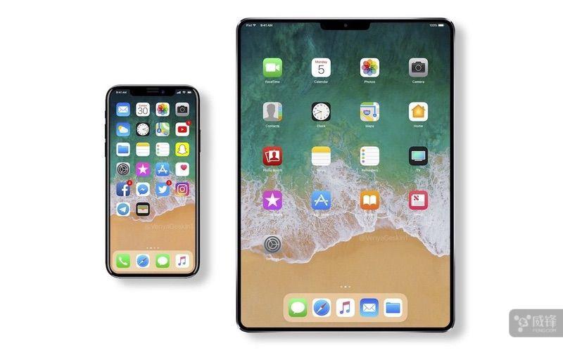 供应商加速量产 Face ID将登陆新iPad
