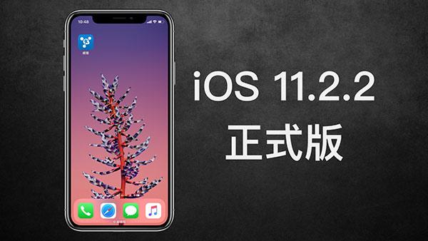 苹果发布iOS11.2.2修复安全漏洞 建议用户升级