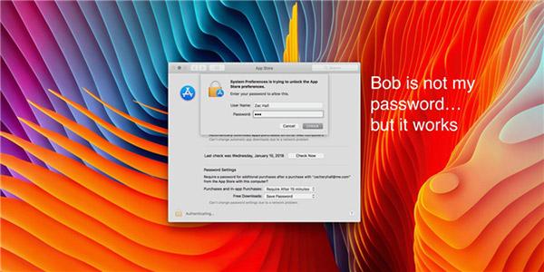 macOS又爆严重漏洞 好在beta版已经修复了