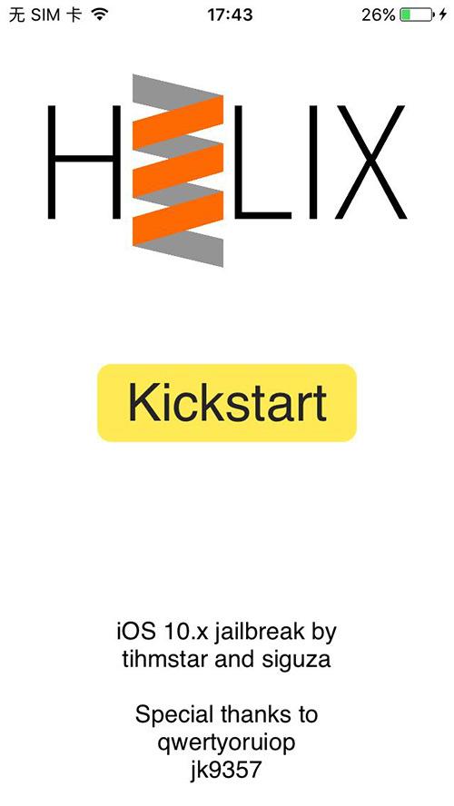 iOS10越狱工具h3lix发布:支持32位设备越狱iOS10
