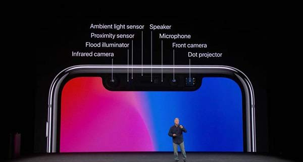 苹果精简传感器 明年iPhone刘海或将缩小