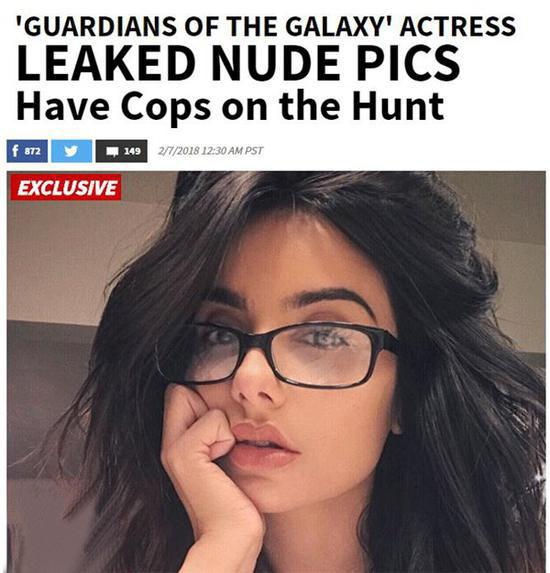 《银河护卫队》女演员iCloud帐户被黑 裸照泄露