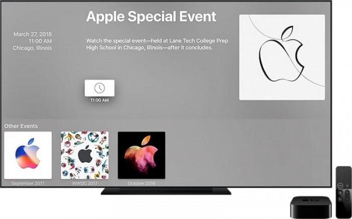 苹果确认:今次芝加哥教育春季发布会,不提供视频直播