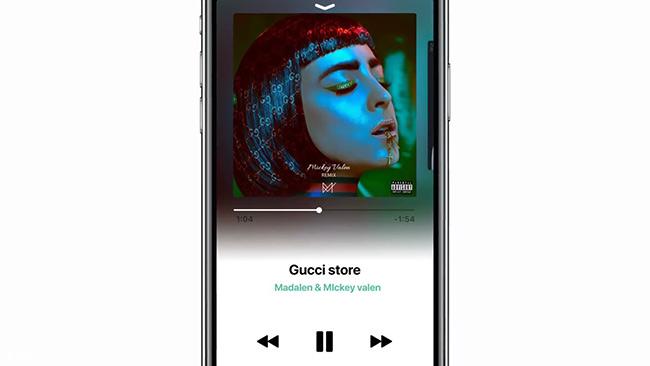 iOS12概念设计:深色模式+全新音乐应用+Cover Flow回归