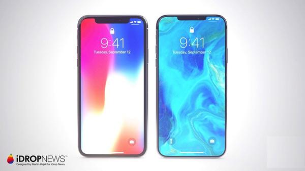 今年iPhone X的刘海将缩小 明年会完全去掉