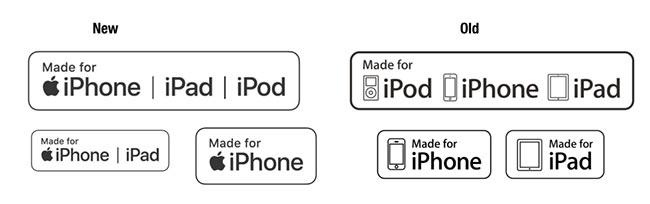 """苹果更换MFi认证logo:经典产品""""退场"""""""