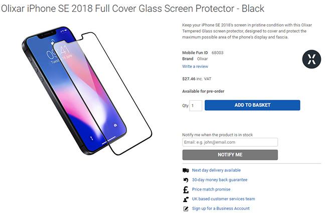 真有刘海?配件商放出iPhone SE 2渲染图