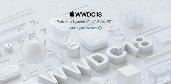 苹果发出媒体邀请函 6月4日召开WWDC发布会