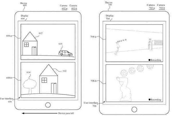 苹果新专利曝光:iPhone双镜头可实现分离取景
