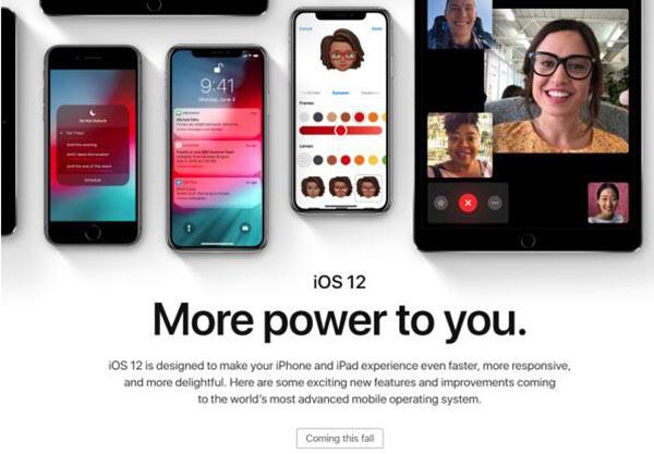 iOS12支持哪些设备?iPhone5s可以升级iOS12吗?