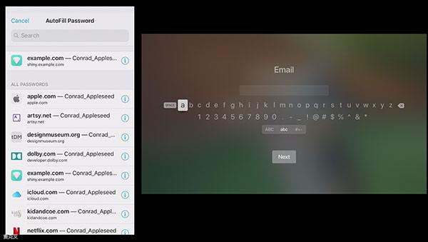 tvOS 12这个新功能太赞了!密码输入很简单