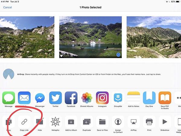 iOS12可复制照片iCloud链接:分享更容易